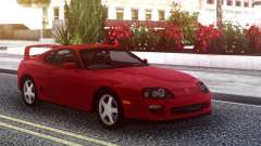 Toyota Supra Red Stock