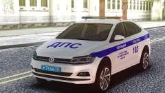 Volkswagen Polo 2019 SB polícia de trânsito para GTA San Andreas