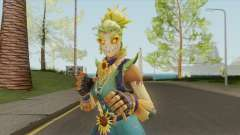 Strawops (Scarecrow Girl) From Fortnite para GTA San Andreas