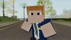 FBI Minecraft Skin para GTA San Andreas