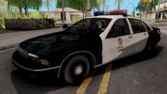 Chevrolet Caprice 1991 San Fierro Police para GTA San Andreas