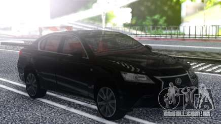 Lexus GS350F 2013 para GTA San Andreas