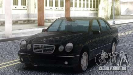Mercedes-Benz E55 Sedan Black para GTA San Andreas