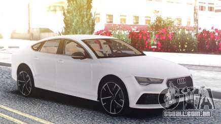 Audi RS7 White para GTA San Andreas
