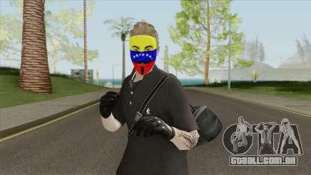 Piel Anonymous Venezuela para GTA San Andreas
