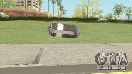 New Grenade (Gray) para GTA San Andreas