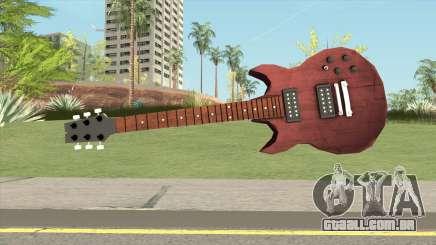 Guitar HD para GTA San Andreas