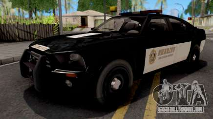 Bravado Buffalo Police Sheriff para GTA San Andreas