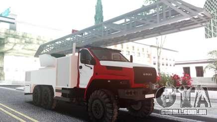 Ural PRÓXIMA Fogo para GTA San Andreas