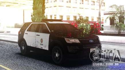 Ford Explorer Police Mod para GTA San Andreas