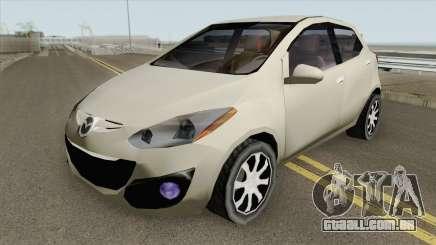 Mazda 2 2013 (SA Style) para GTA San Andreas