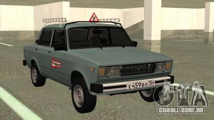 VAZ 2105 de Formação para GTA San Andreas