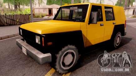 SUV Bulldog para GTA San Andreas