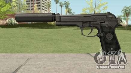 Firearms Source Beretta M9 Suppressed para GTA San Andreas
