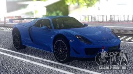 Porsche 918 Spyder Sport para GTA San Andreas
