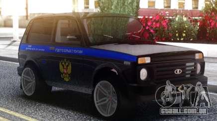 Lada 4x4 seção contra Ponte para GTA San Andreas