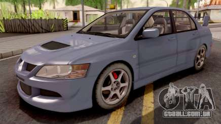 Mitsubishi Lancer EVO 8 Sedan para GTA San Andreas