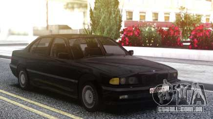 BMW 730i e38 Black para GTA San Andreas