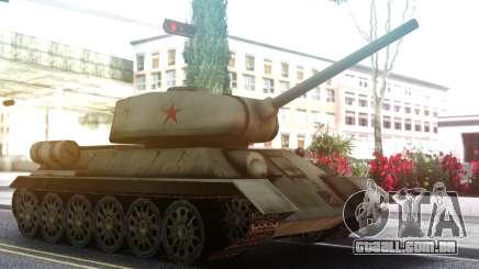 T-34 Tanque para GTA San Andreas