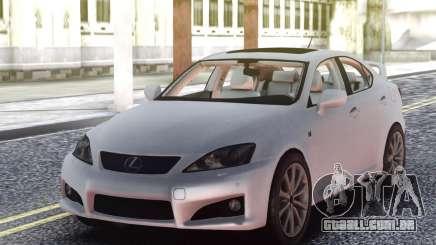 Lexus IS-F 2009 Civil para GTA San Andreas