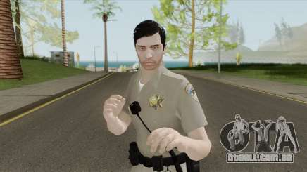 SAHP Officer Skin V1 para GTA San Andreas