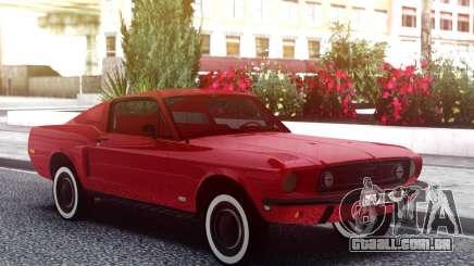 Ford Mustang 1967 Red Muscle para GTA San Andreas