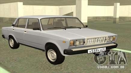 VAZ 2107 estoque de Limousine para GTA San Andreas