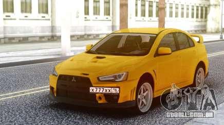 Mitsubishi Lancer 10 para GTA San Andreas
