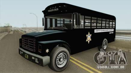 Prision Bus GTA V (Los Angeles County) para GTA San Andreas