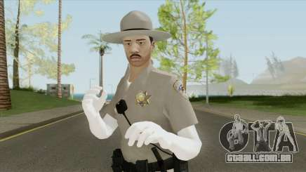 SAHP Officer Skin V5 para GTA San Andreas