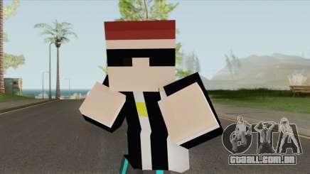 Aztaceas Minecraft Skin para GTA San Andreas