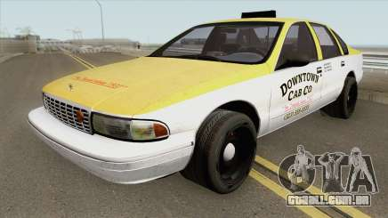Chevrolet Caprice Taxi 1996 MQ para GTA San Andreas