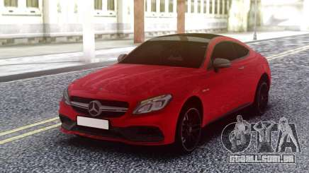 Mercedes-Benz C63S AMG Red para GTA San Andreas