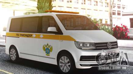 Volkswagen T5 Rostransnadzor para GTA San Andreas