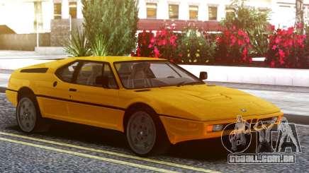 BMW M1 E26 79 para GTA San Andreas