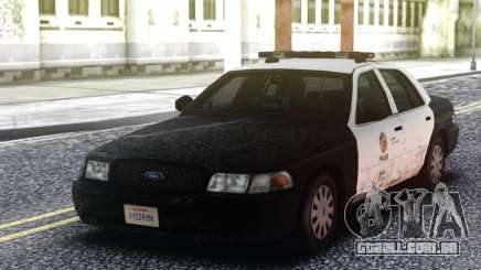 Ford Crown Victoria Police Interceptor Classic para GTA San Andreas