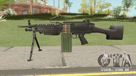 Firearms Source M249 para GTA San Andreas