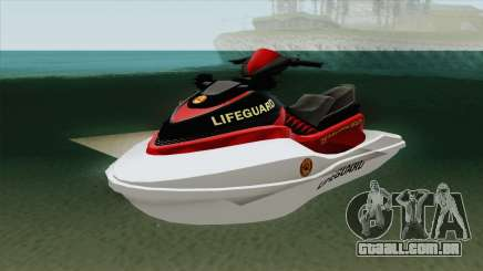 Speedophile Seashark Lifeguard GTA V para GTA San Andreas