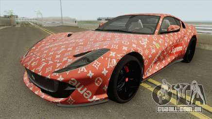 Ferrari 812 Superfast (Supreme X Luis Vouitton) para GTA San Andreas