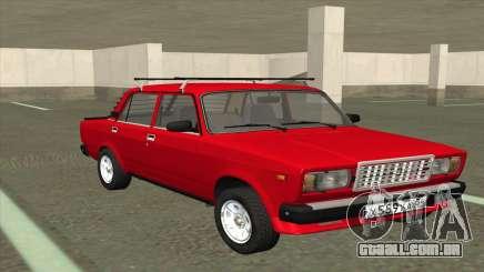 2107 De Combate Clássico Vermelho para GTA San Andreas
