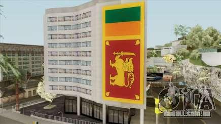 Srilanka Flag On Building para GTA San Andreas