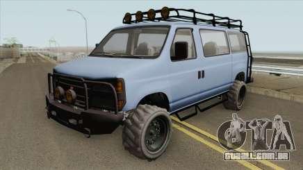 Bravado Rumpo Custom GTA V para GTA San Andreas
