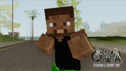Grove Minecraft Skin para GTA San Andreas