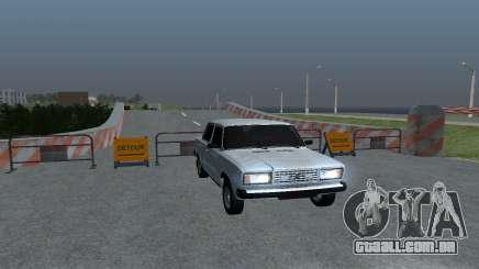 VAZ 2107 Oper Style para GTA San Andreas