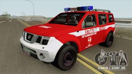 Nissan Pathfinder - OSP Slawacinek Stary para GTA San Andreas