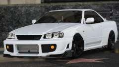 Nissan Skyline GT-R 34 para GTA 5