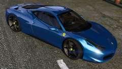 Ferrari 458 Italia para GTA 5