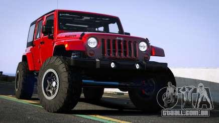 Jeep Wrangler 2012 Rubicon para GTA 5