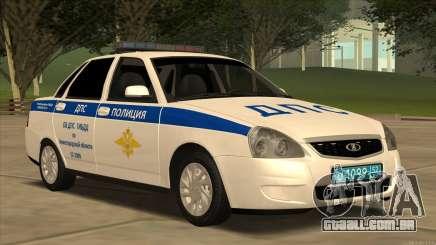 Lada 2170 SOBRE a polícia de trânsito para GTA San Andreas