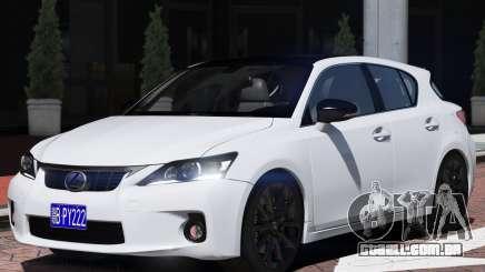 Lexus CT200h para GTA 5